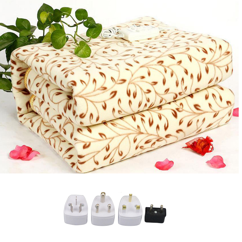 NewElectric Blanket Electric Heated Blanket Mat 220v Manta Electrica Blanket Heated Blanket Couverture Electrique Carpets Heated electric blanket double dual control manta electrica security carpets heated woolen mantas electricas carpets heated carpet mat