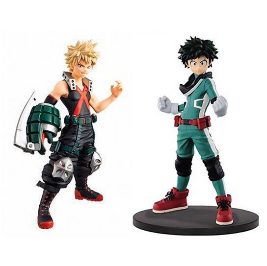 My Hero Academia Midoriya Izuku Bakugou Katsuki Bok Anime Action Figure PVC toys Collection figures for friends gifts