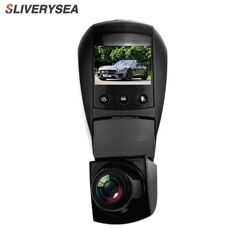 SLIVERYSEA 360 Record HD Car dVR Dash Camera WiFi Connection 1080P Video Registrator Dash Hidden Cam