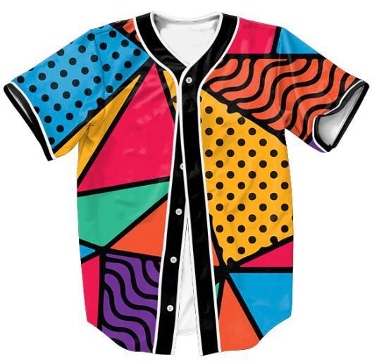 90s feel jersey women men shirt casual style summer new 3d print outwear tops boy