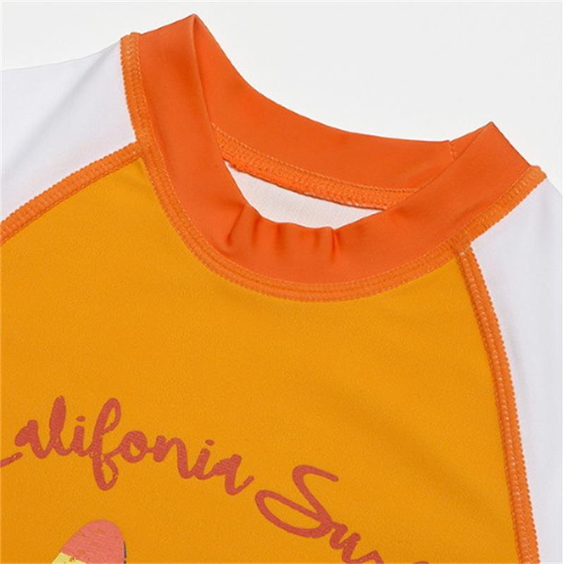 38c421cfdc S XXL Children Bathing Suits 2018 new Long sleeve Sunscreen print Two Pieces  courageous Boys Swimwear Baby Trunks Swimming Suits-in Body Suits from  Sports ...