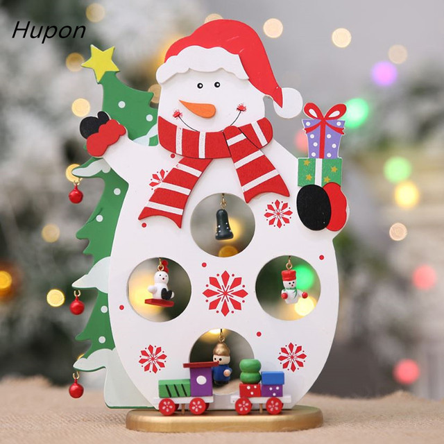 Aliexpress Com Buy Tree Christmas Wooden Ornament With