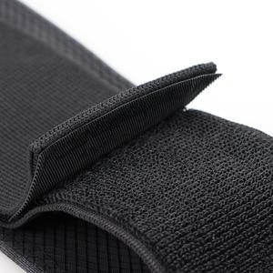 Спортивная сумка Queshark с эластичным поясом, двойной карман на молнии, поясная сумка для бега, спортзала, йоги, поясная сумка, кошелек для мобильного телефона