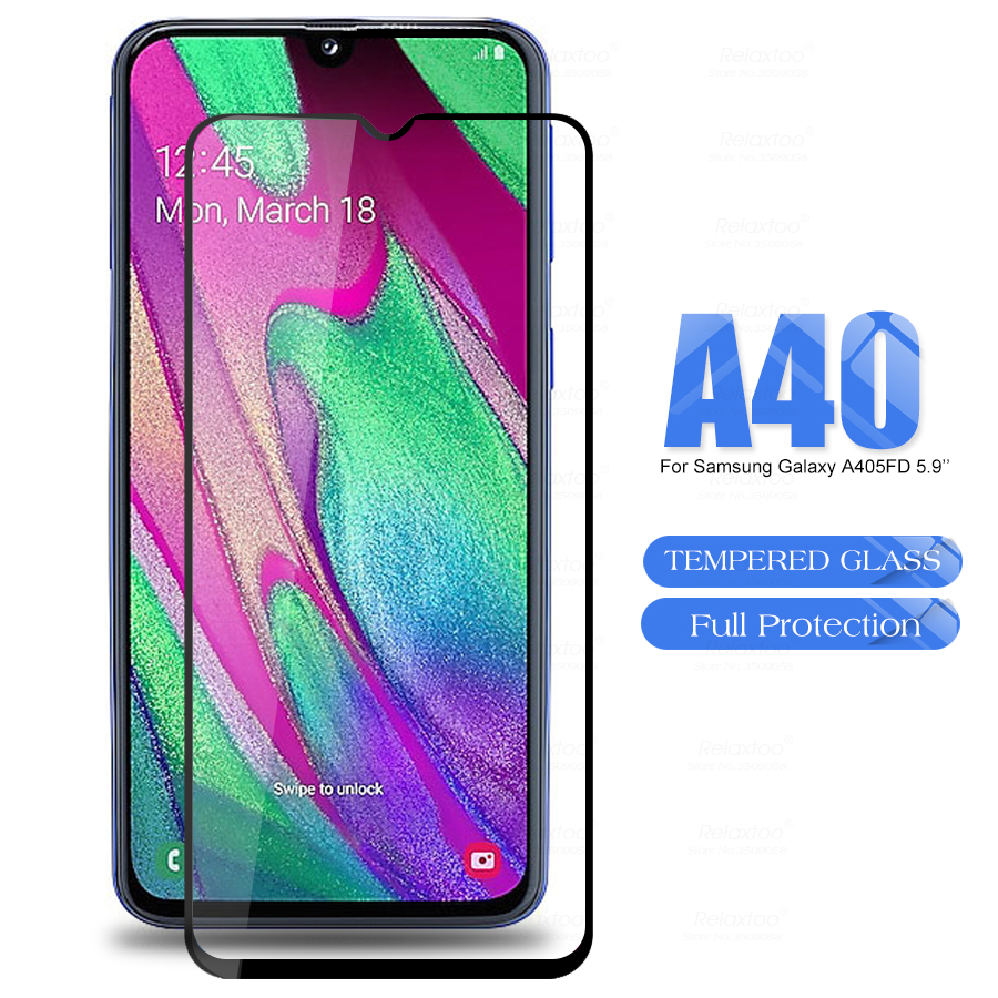 A405 Glas Screen Protector Gehard Glas Voor Samsung Galaxy A40 SM-A405F/DS 6.4 'GalaxyA40 EEN 40 40A Beschermende film Case Cover