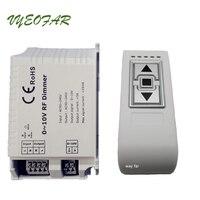 New DM015 High Voltage 90 240VAC 0 10V RF Dimmer ON OFF 3 Key Remote LED