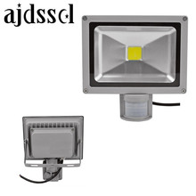 LED FLOOD 220V/110V Led Flood Lights Outdoor Sensor Floodlight Lamp10W 20W 30W 50W PIR Motion Sensor Refletor Foco Spotlight dc 12v 10w 20w 30w 50w led floodlight outdoor spotlight spot flood light lamp rgb refletor led foco exterior projecteur