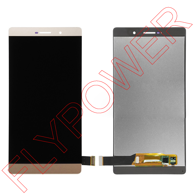 For Huawei Ascend P8 max LCD Screem Display With Touch Screen Digitizer Assembly White black gold; 100% warranty white lcd display touch screen digitizer glass assembly frame for huawei ascend p7 p7 l10