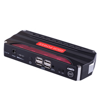 1PCS Black Red 68800mAh Multi Functional Car Jump Starter Emergency Charger Booster Power Bank Battery SOS