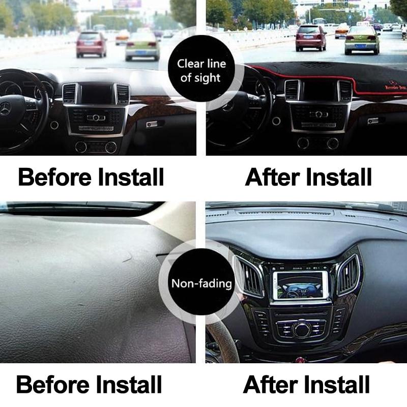 cheapest Car Dashboard Cover Dash Mat For Citroen C4 C-Quatre 2004 2005 2006 2007 2008 2009 2010 Sun Shade DashMat Pad Dashboard Cover