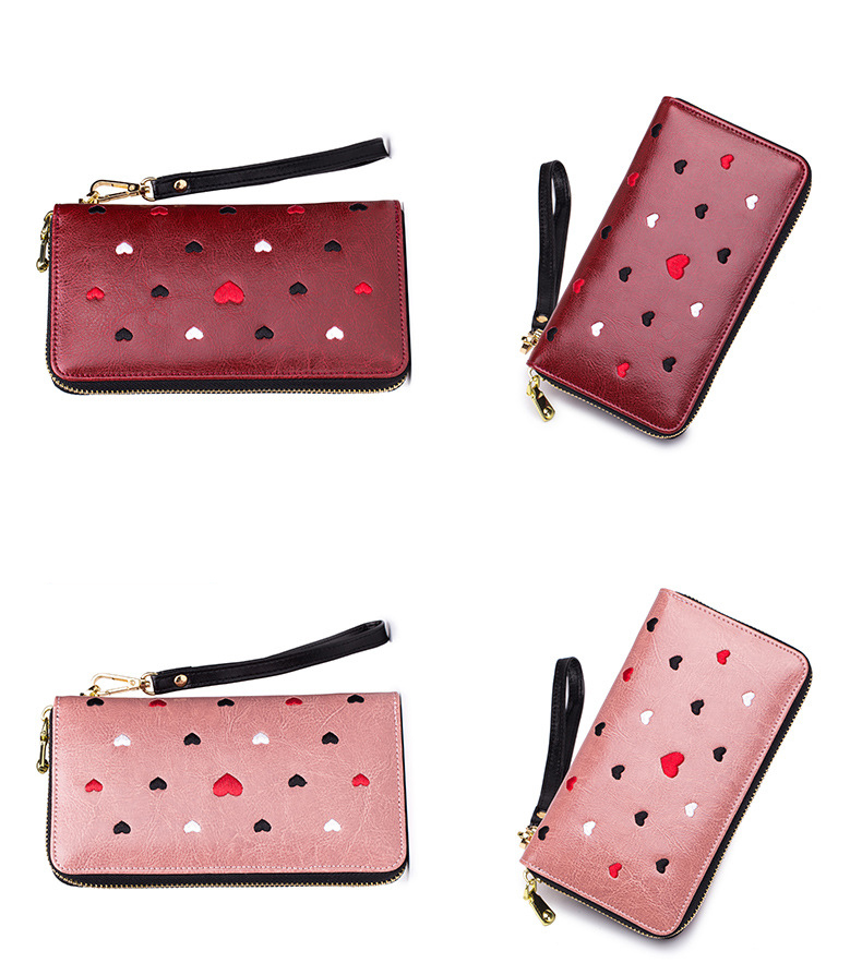 Women genuine leather wallet 18