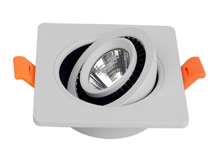 Dimmable удара Светильники 12 Вт встраиваемые светодиодные светильники теплый белый/холодный белый В виде ракушки ce & rohs + драйвер 20 шт./лот