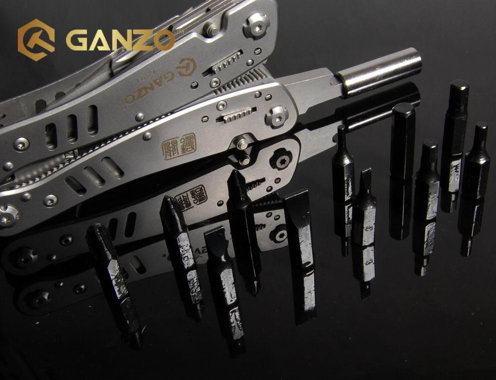 Ganzo G301 Multi Pliers Tool Kit W Lock Mulfunctional Outdoor