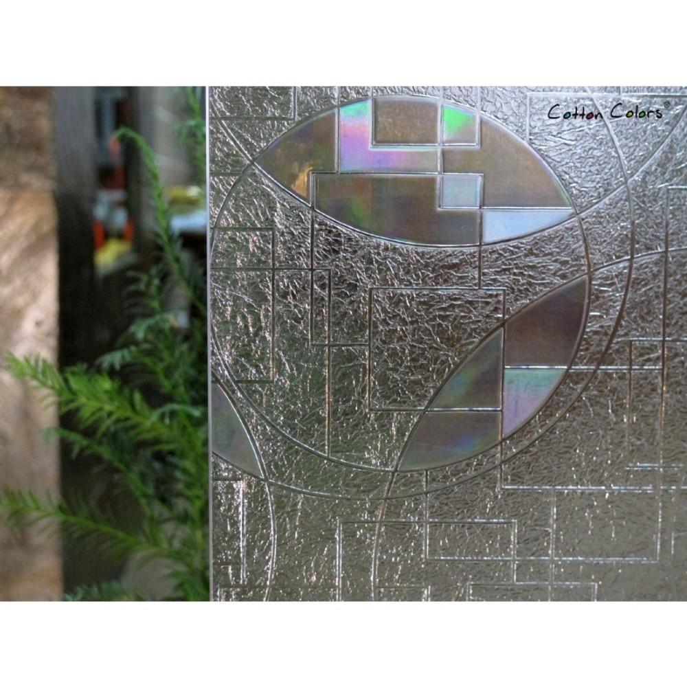 CottonColors Salle De Bains Glasse Couverture PVC Fenêtre Film - Décor à la maison - Photo 3