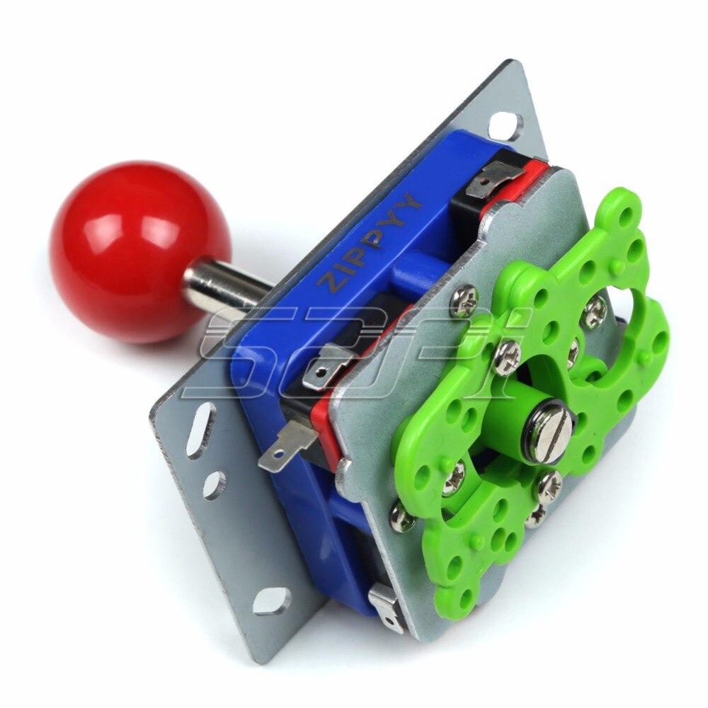52Pi Newest Arcade Game Machine DIY Parts for 2 Players: Zero Delay USB Encoder+Joysticks+Push Buttons+Cables