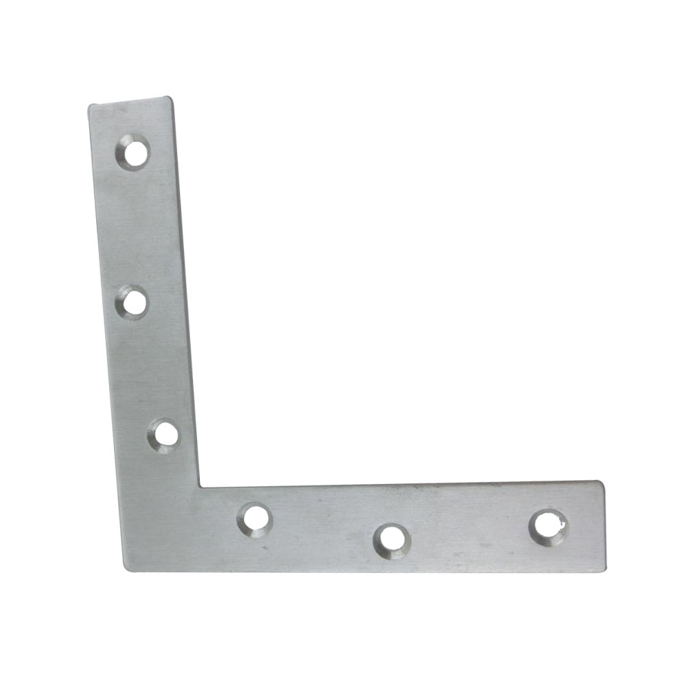 2pcs 150mm x 150mm L Type Bracket Stainless Steel 2mm Thickness Mending Repair Plate Connector Corner Angle Bracket 10pcs lot stainless steel flat corner brace fixed angle plate connector repair bracket 38mm 15 6mm thickness 1 73mm k160