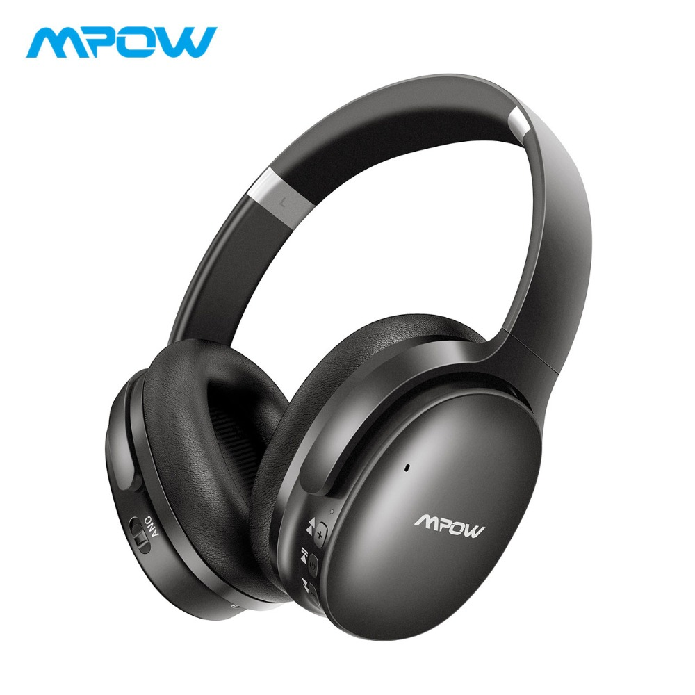 Mpow H10 HiFi Stereo Music Headsets Noise Cancelling Headphones Over Ear 25H Playing Time Wireless Bluetooth