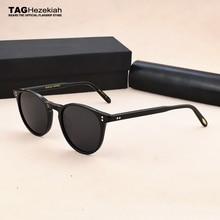Ov del progettista di Marca occhiali da sole polarizzati occhiali da sole da uomo 2019 Classico della moda retrò occhiali da sole di Guida di pesca rotonda vintage occhiali da sole donne
