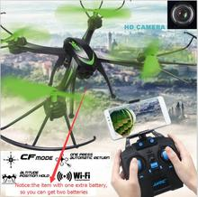 H98WH WIFI FPV RC drone 2.4Ghz 4CH 6-axis real time transmission Quadcopter with HD Camera with extra battery vs X14WH