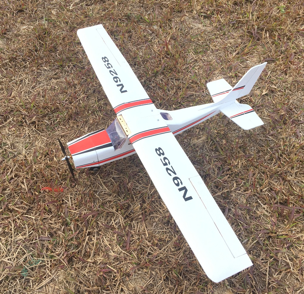 Image 3 - 1200mm DIY Balsa RC Plane Kit Cessna-in RC Airplanes from Toys & Hobbies