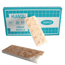 blessfun 10 boxes (1000pcs) sterile ear press needle Auricular acupuncture needle Intradermal needle 100 pcs zhongyan taihe ear sterile press press the needle buried one time press the needle lift needle beauty intradermal needle