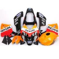 Motorcycle Orange REPSOL Injection Molded Fairing KIT For H O N D A CBR600RR CBR 600RR CBR600 RR 2003 2004 ABS Plastic +4 Gift