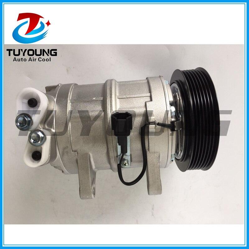 Compresseur de climatiseur automatique de haute qualité DKS17CH pour Nissan patrouille/Navara D22 92600VB800 3B05045010 92600vc710 - 4