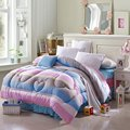150*200cm Striped Winter Comforter Cartoon Polyester Padded Child Bed Quilt Comforters Warm Soft Duvet for Adults