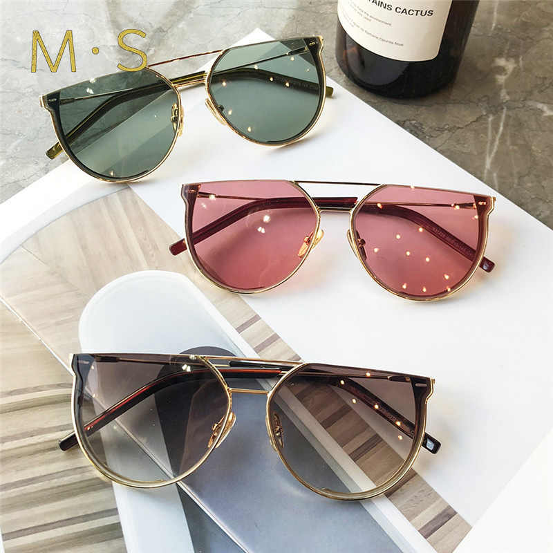 MS Unisex Sunglasses 2019 Luxury Decoration Classic Eyewear Women Sunglasses Original Brand Designer Sun Glasses Fashion  UV400
