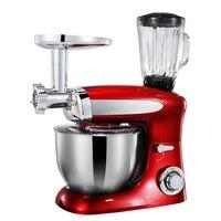 Электрический миксер домашний Еда смеситель 6.5L Мясорубка соковыжималка выпечки Mixeur вафельница ударные тесто миксер, кухонный комбайн