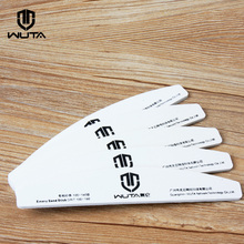 Wuta Emery Grit Sanding Sticks 100/180 Grit Double Sided Emery Board For Leather Craft Tools Edge Polished Finish 5PCS/PACK