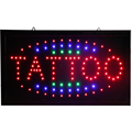 CHENXI Tattoo Store Neon Open Signs Flashing Led Tattoo Spa Beauty Shop Business Led Advertising Indoor 19*10 Inch.-in Werbung-Leuchten aus Licht & Beleuchtung bei