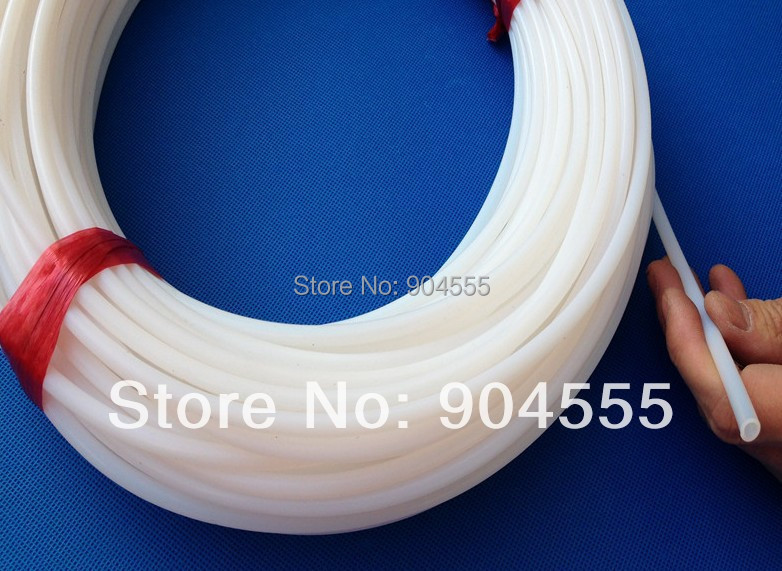 PTFE,OZONE Teflon pipe,Polytetrafluoroethylene tube, high and low temperature-resistant.ID 10MM,OD12MM  (10X12MM) white color size 200 200 5mm teflon plate resistance high temperature work in degree celsius between 200 to 260 ptfe sheet