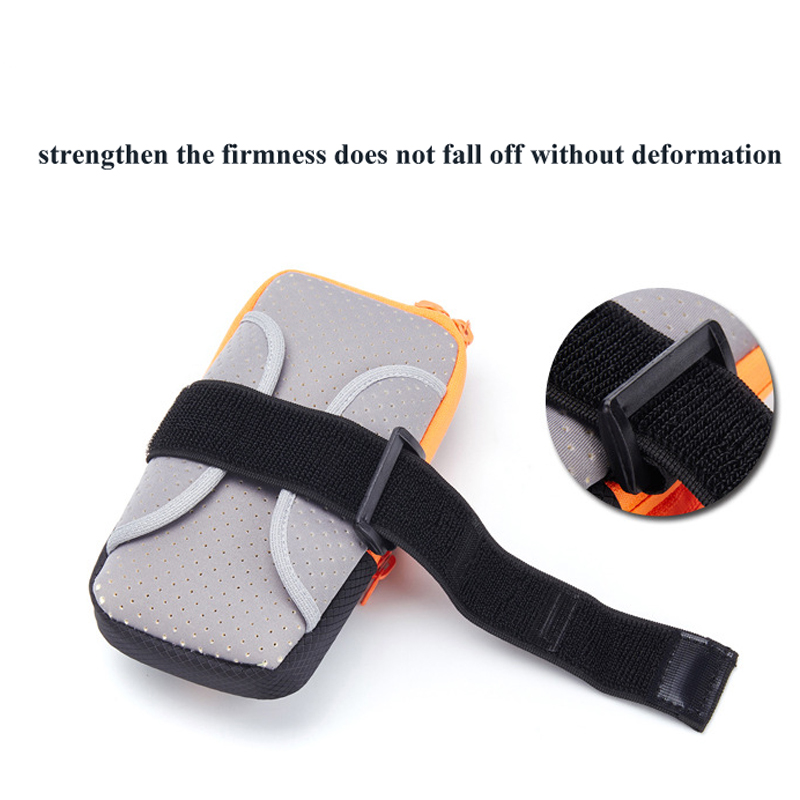 5-6inch Gym Arm Bag Wrist Pouch Exercise Protective Phone Sport Bag Outdoor Waterproof Phone Arm Hand Bag For Camping hiking