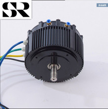 HPM 5KW Max 6000RPM 7.5KW BLDC water cooling motor for electric car or electric motorcycle