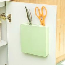 Plastic knives hidden wall rack storage rack turret creative kitchen knife rack insert tool holder