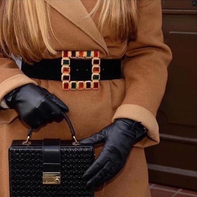Vedawas de México Harajuku cinturón Modis cinturones para las mujeres accesorios lujos Mujer fiesta regalos de Navidad al por mayor xg2248