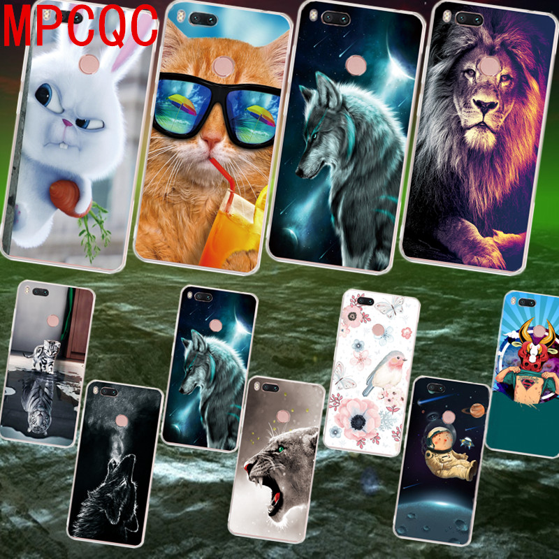 MPCQC 3D Painted Patterned Soft Silicon TPU For Xiaomi Mi 5X A1 Mi 6X Note 3 Redmi S2 Note 5A Pro 4 5 Plus 4X luxury Cover case