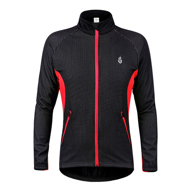 winter cycling jacket men women bicycle clothing thermal fleece bike jacket  mtb windproof reflective long sleeve 94c8cd45d