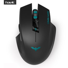 HAVIT 2.4G Wireless Gaming Mouse with 2000DPI 6 Button USB Receiver For PC Laptop Desktop Gamer mouse sem fio ( HV-MS976GT )