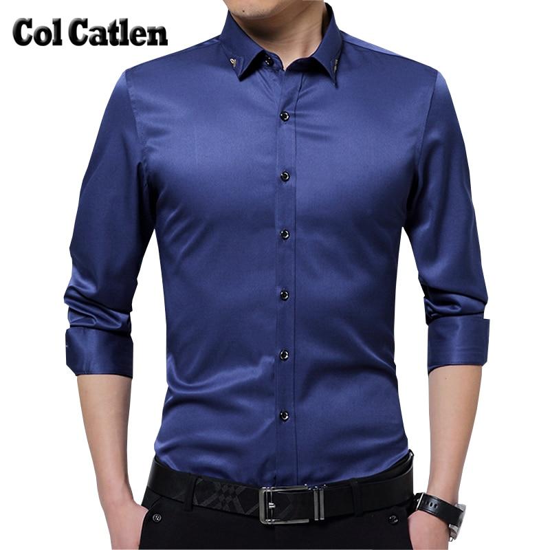 جديد وصول اللباس قميص الرجال الأزياء يتأهل الرجال طويلة الأكمام قمصان 2017 الخريف بلوزة الذكور عارضة القمصان 5xl camisa الغمد