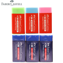 Faber Castell DUST FREE Colored Pencil Eraser 6 Pieces Novelty Erasers School Rubbers Specially Formulated for