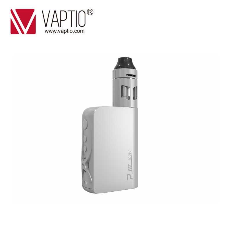 Vape thuốc lá 100 W Vaptio P3 Vape Kit 3000 mAh Được Xây Dựng trong Pin VW/TC MOD Vape Tank 2.0 ml Top Làm Đầy Atomizer