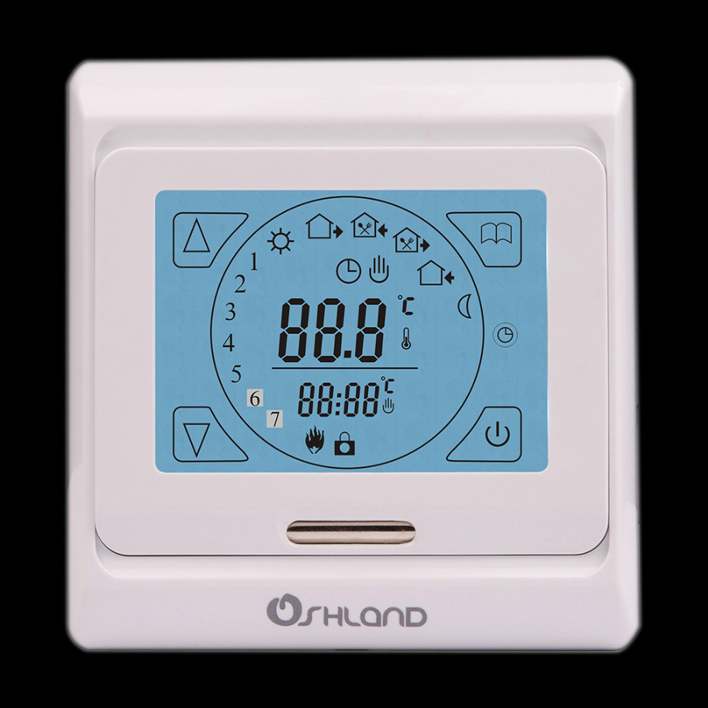 Simple Underfloor Heating Controller New Arrival Digital Programmable Room Thermostat In Ideas