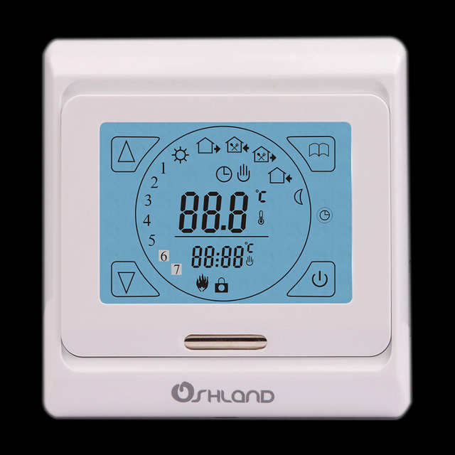 New Arrival Digital Programmable Room Thermostat Underfloor Heating ...