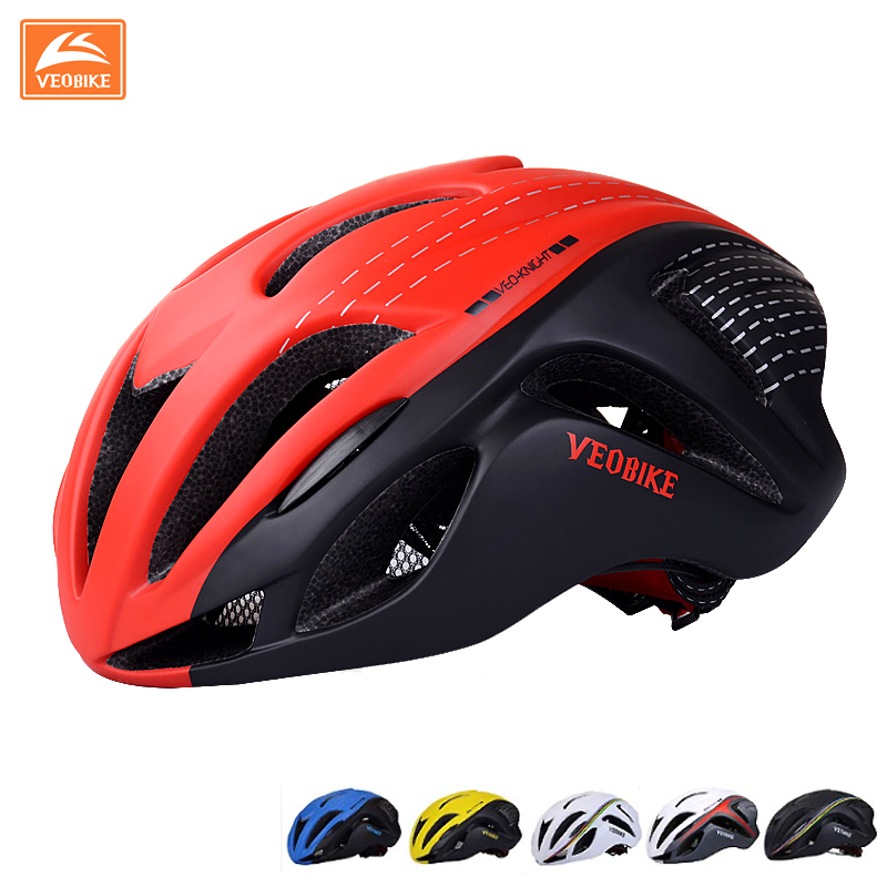 VEOBIKE Breathable Cycling Helmet Mountain Bike Bicycle Helmet Safety Equipment Design Ergonomic Oversized Air Vents 5 Color high quality safety helmet overhead work rock climbing bike cycling safety hat abs material mountain bicycle safety helmet 397