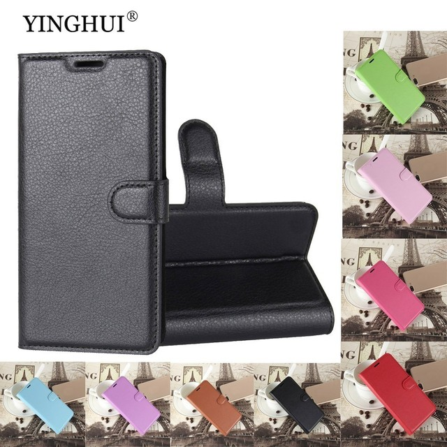 """YINGHUI Luxury PU Leather Wallet For Lenovo A6020a46 Case Cover For A6020a46 Cases 5.0"""" Flip Protective Phone Bag Skin Fundas"""