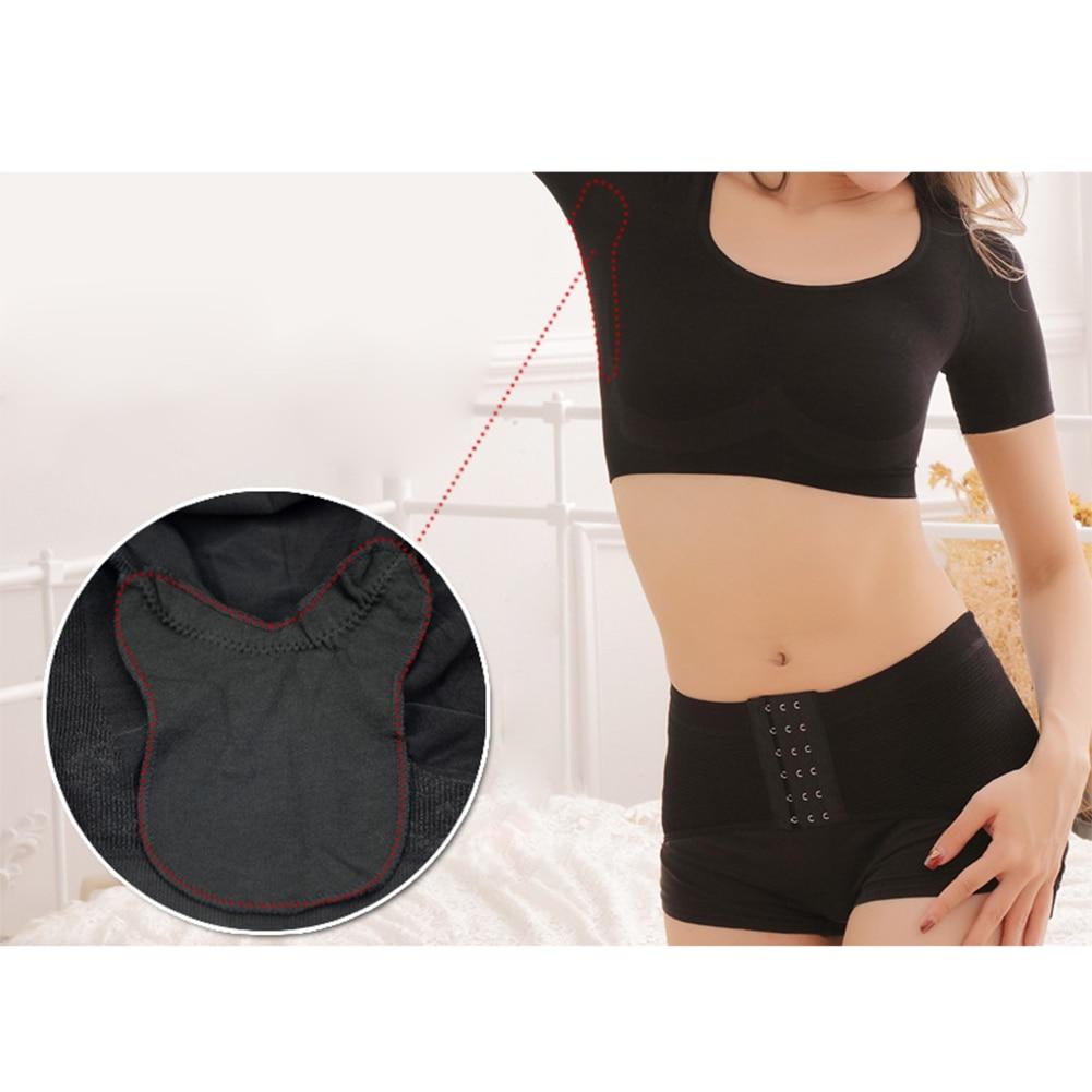 Women Washable Body Shaping Underarm Sweat Guard Pads  Tops Armpit Sheet Deodorant Anti Perspiring Anti Transpirant Clothing