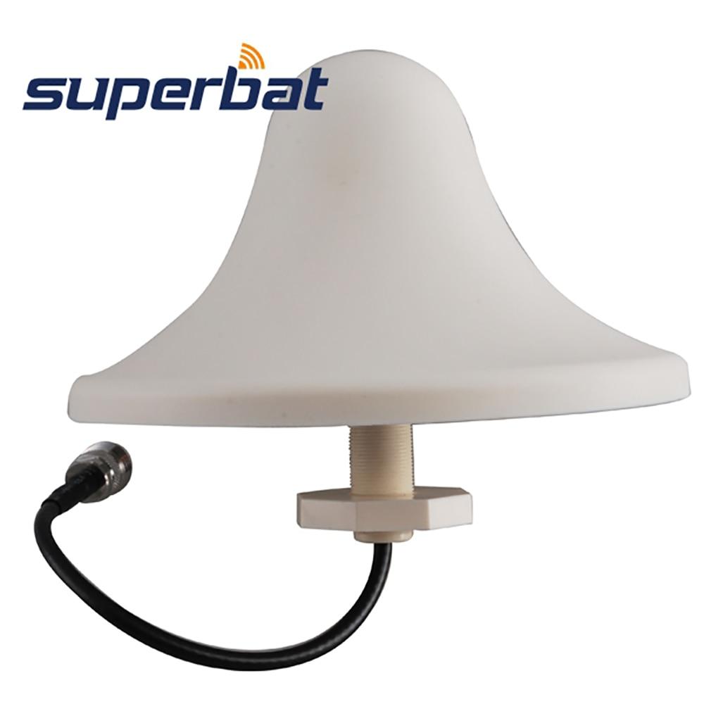 Superbat 4G LTE 5dBi GSM GPRS EDGE UMTS HSPA CDMA 3G WiFi Ceiling Mount Omni Antenna Aerial Signal Booster N Jack 100 Watt