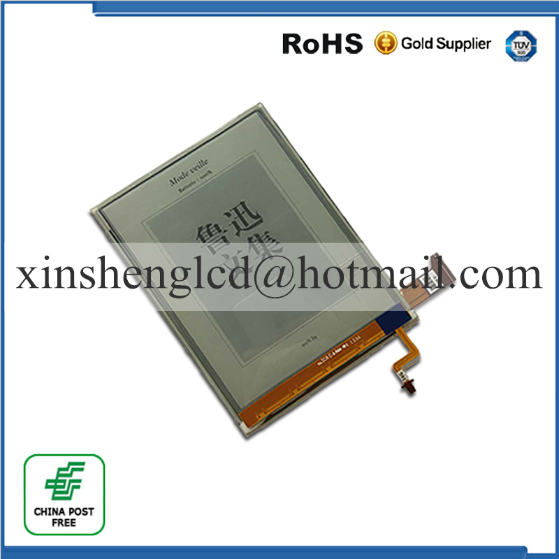 NEW Original E-Ink ED060XG1(LF)T1-11 ED060XG1T1-11 768*1024 HD XGA Pearl Screen For Kobo Glo Reader Ebook eReader LCD Display new original high definition screen ed060xc5 ink screen ebook
