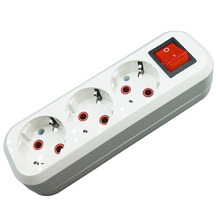 Original white Color Power Strip Socket with switch  Fast Charging Standard Extension Plug Home Electronics